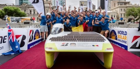 Punch Powertrain Solar Team