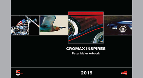 Cromax Inspires – a collection of paintings from renowned American artist, Peter Maier