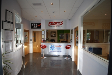Pratts Auto Bodyshop in Carlow, Ireland