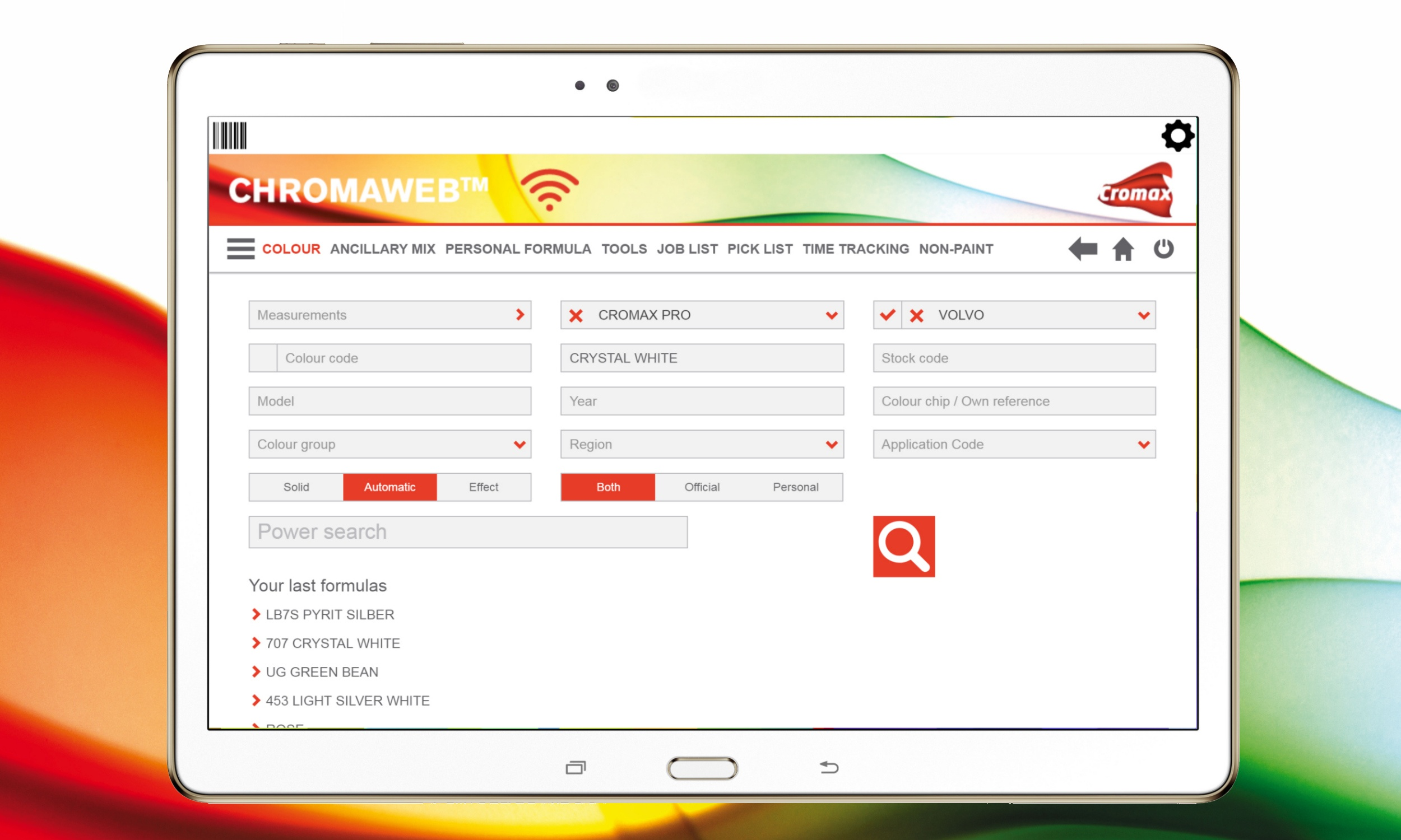 Cromax offers ChromaWeb App for Smartphones